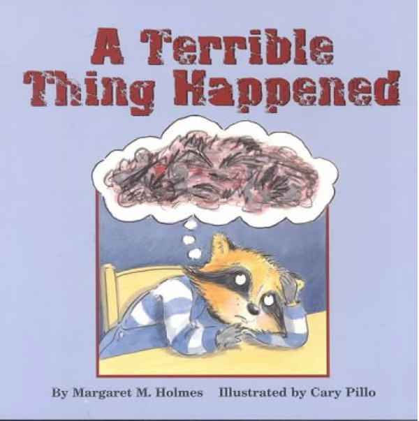 A terrible thing happened - book cover