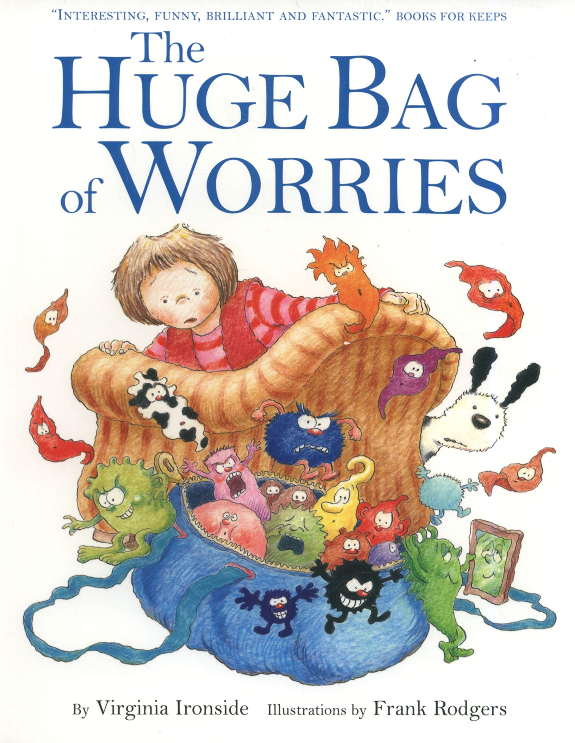 The Huge Bag of Worries cover